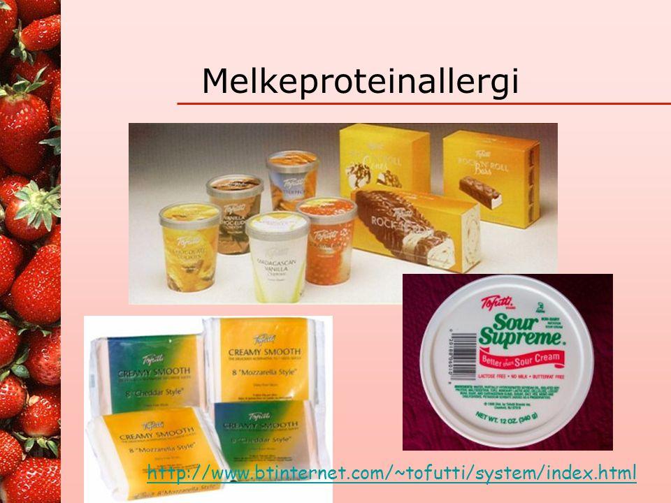 Melkeproteinallergi