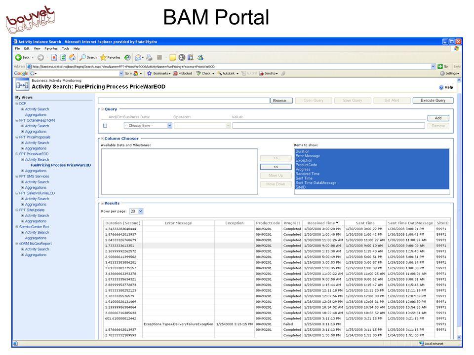 BAM Portal