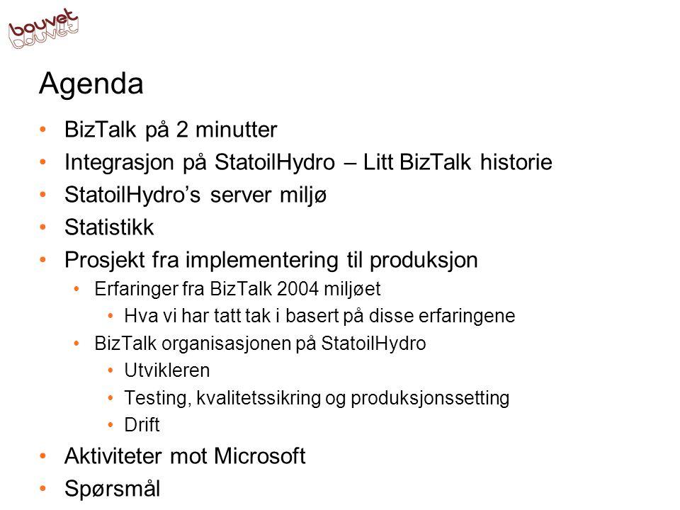 Agenda BizTalk på 2 minutter