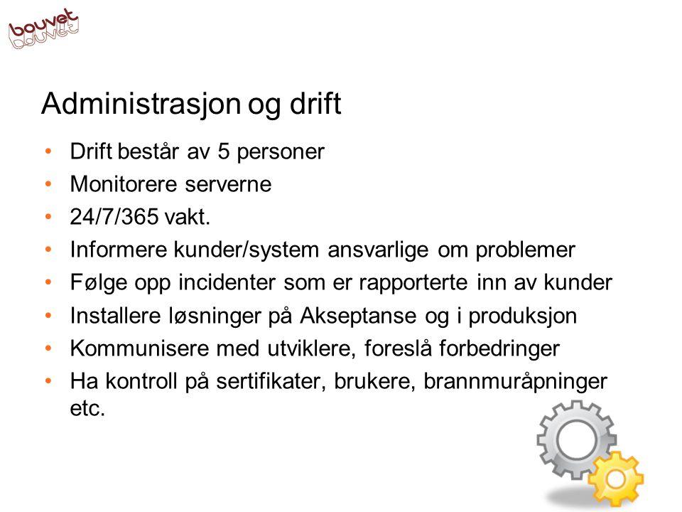 Administrasjon og drift