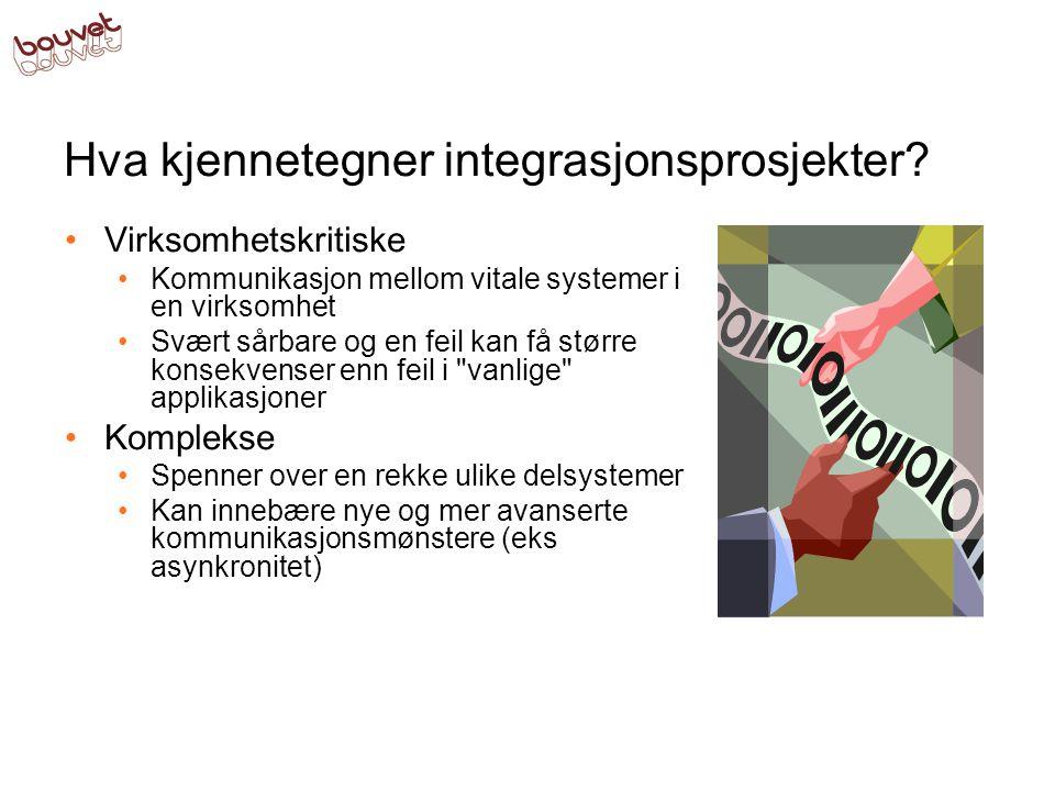 Hva kjennetegner integrasjonsprosjekter