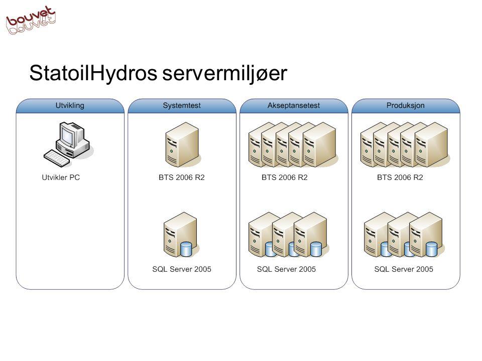 StatoilHydros servermiljøer