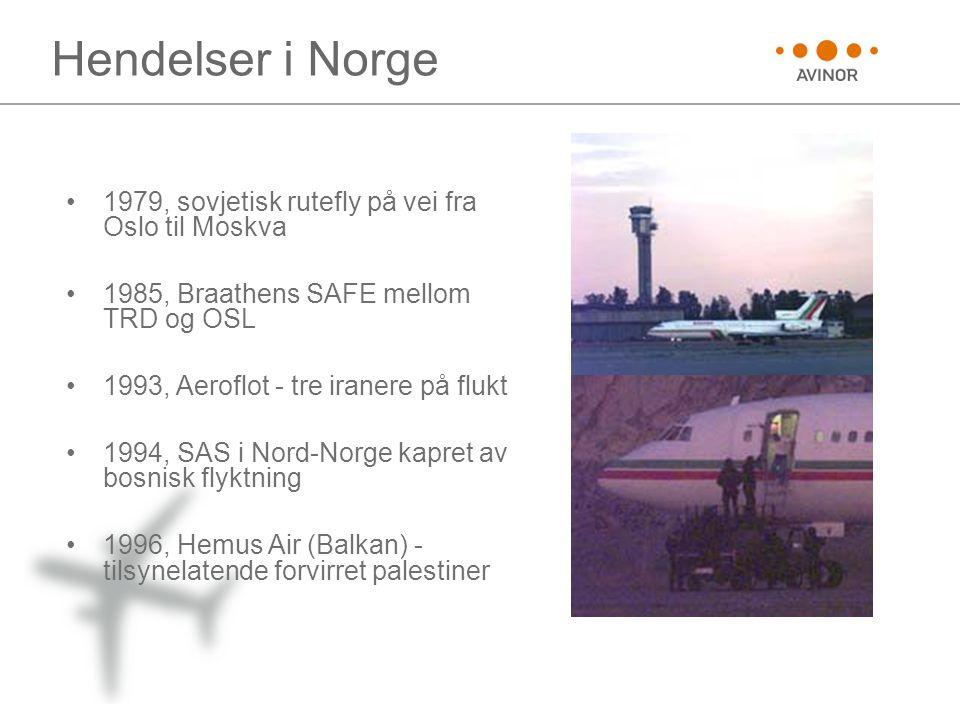 Hendelser i Norge 1979, sovjetisk rutefly på vei fra Oslo til Moskva