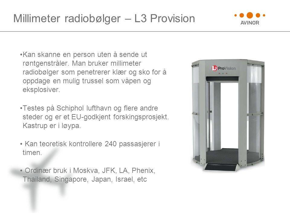 Millimeter radiobølger – L3 Provision