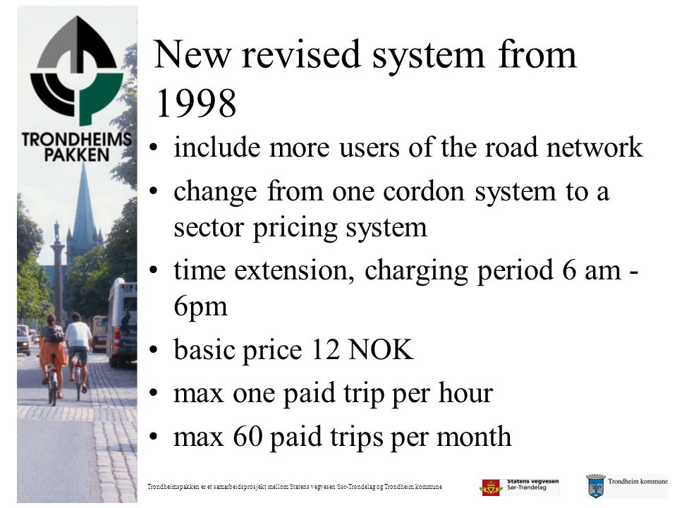 New revised system from 1998