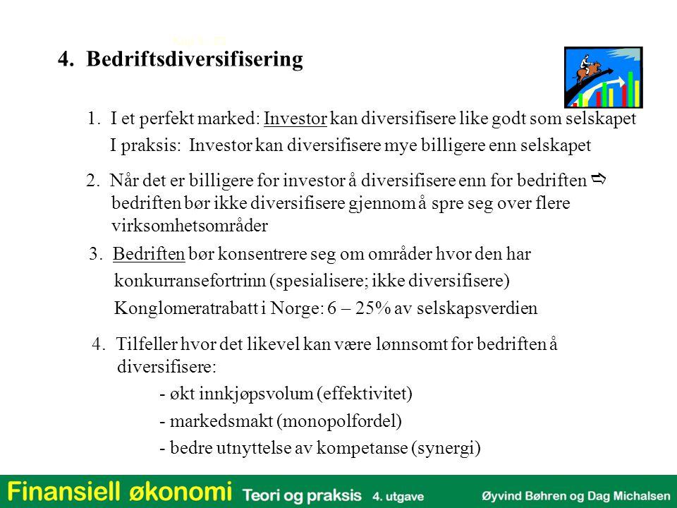4. Bedriftsdiversifisering