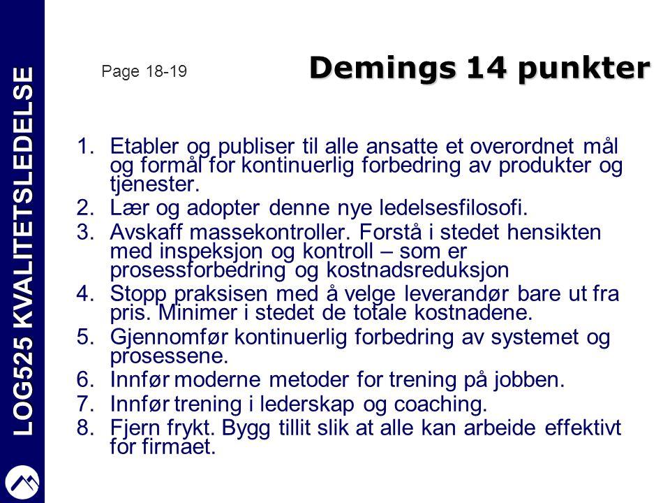 demings 14 punkter