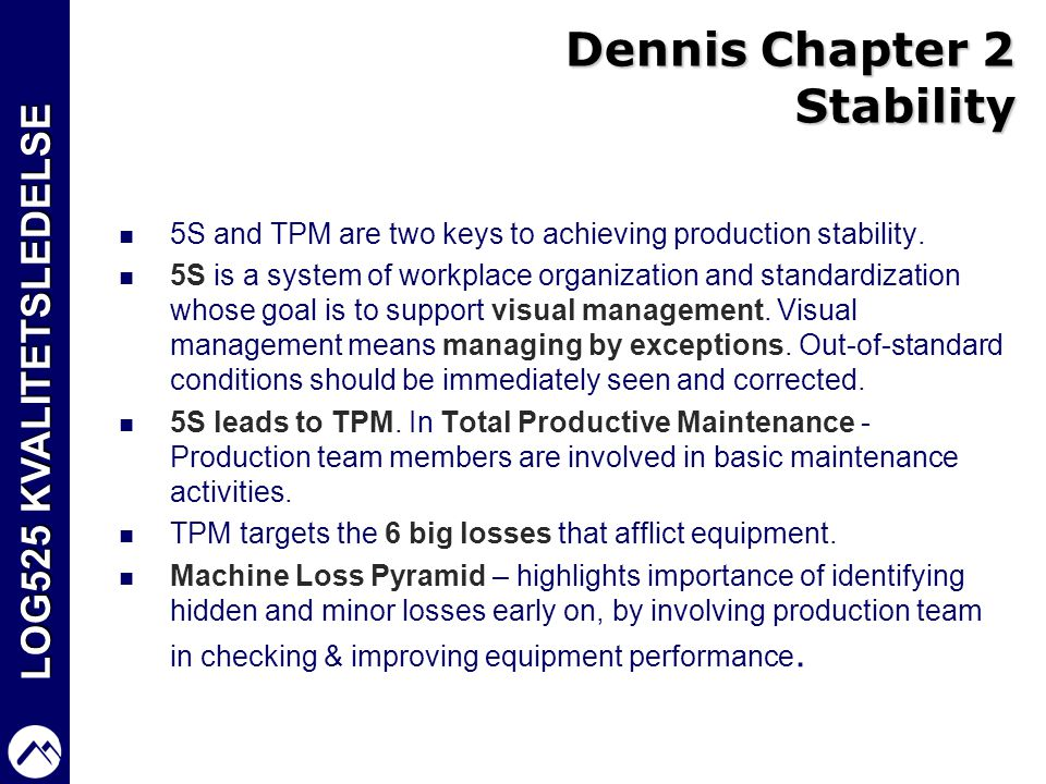 Dennis Chapter 2 Stability