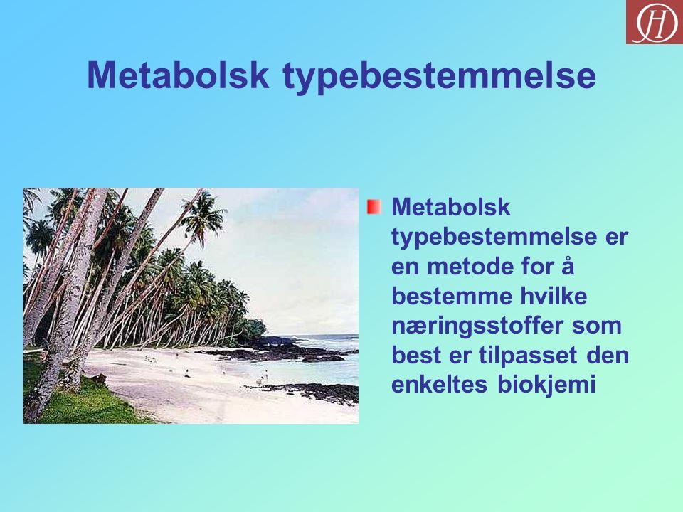 Metabolsk typebestemmelse