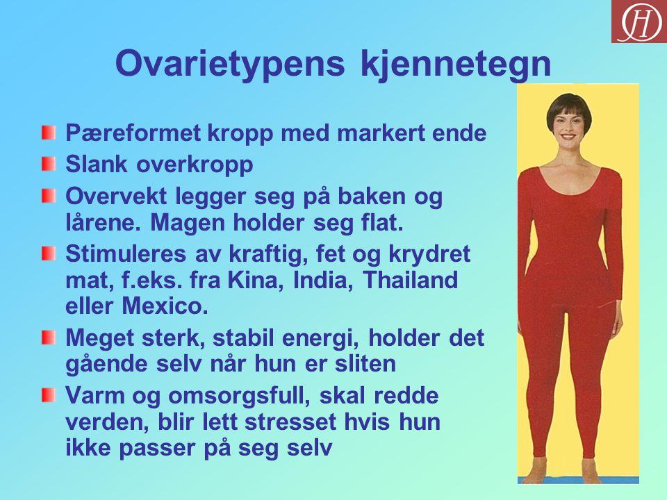 Ovarietypens kjennetegn