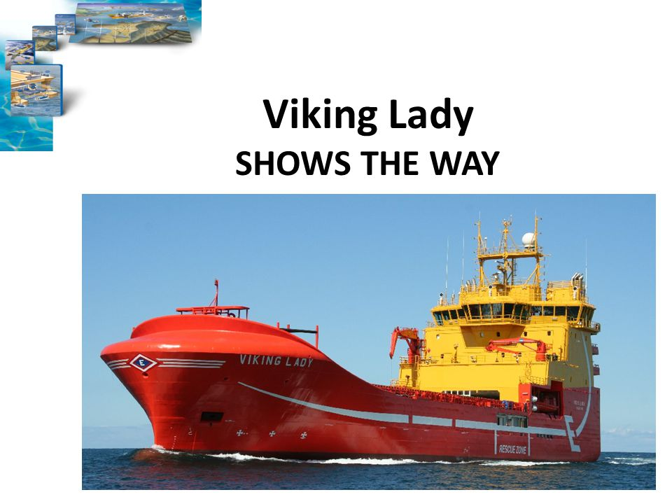 Viking Lady SHOWS THE WAY