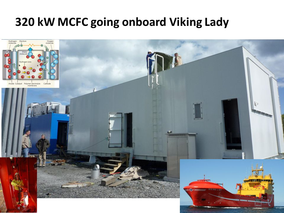 320 kW MCFC going onboard Viking Lady