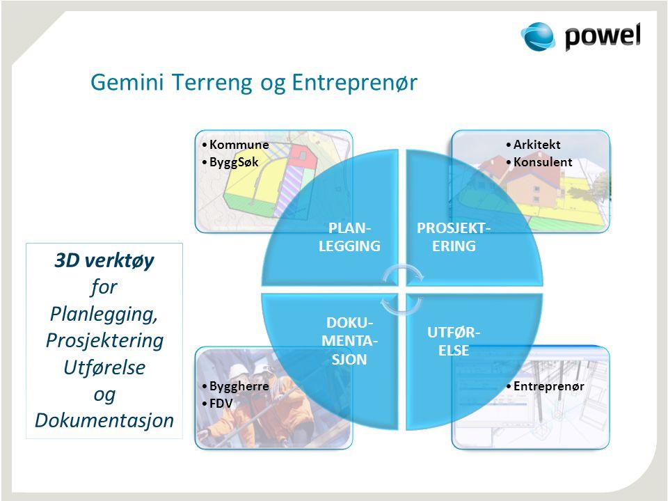 Gemini Terreng og Entreprenør