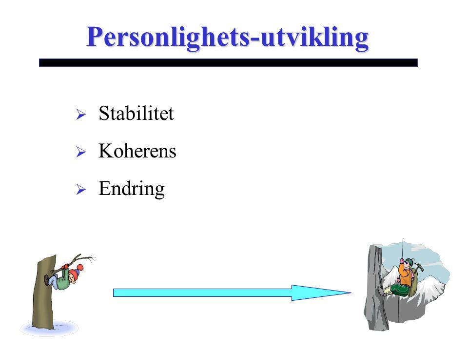 Personlighets-utvikling