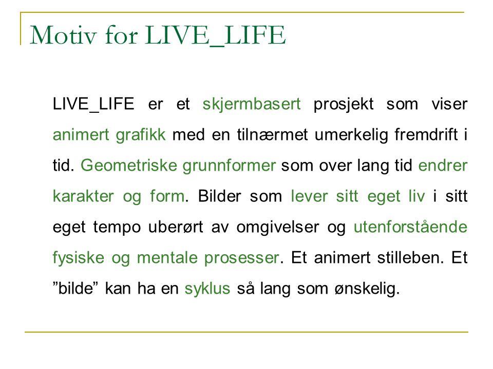 Motiv for LIVE_LIFE