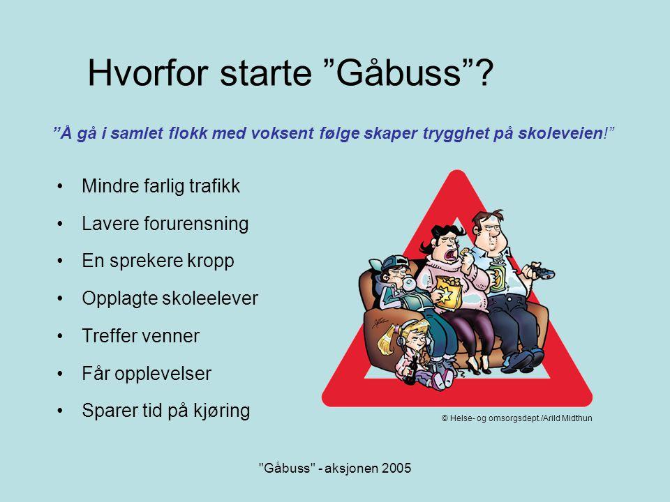 Hvorfor starte Gåbuss