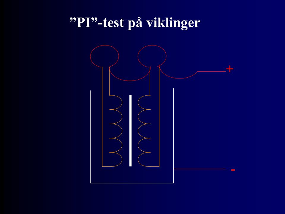 PI -test på viklinger