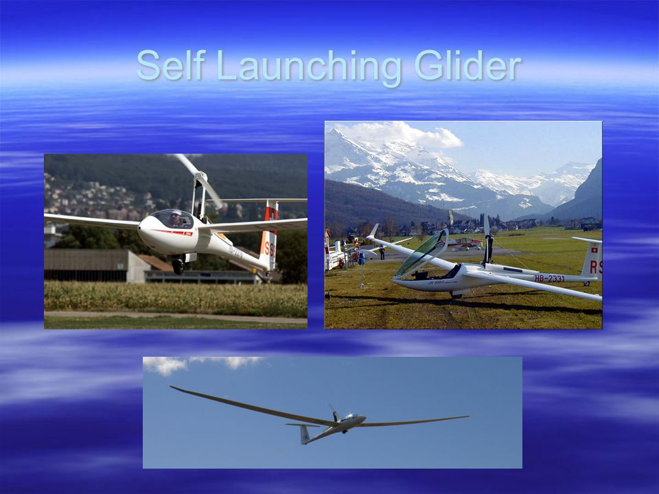 Self Launching Glider