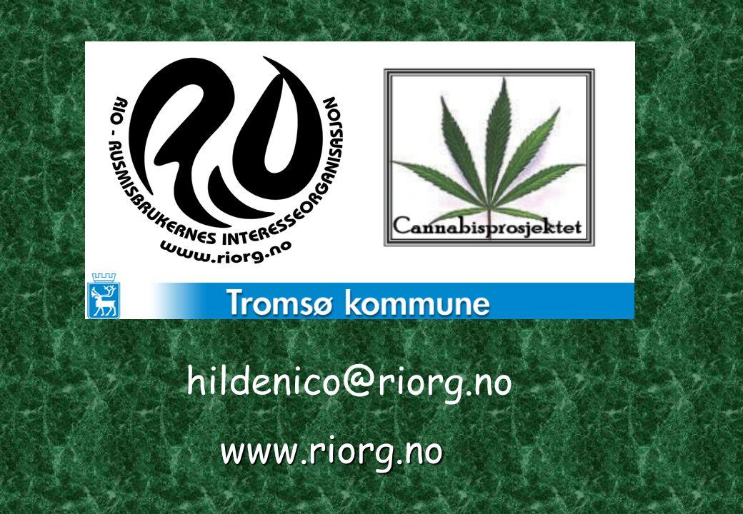 Kort presentasjon hildenico@riorg.no www.riorg.no