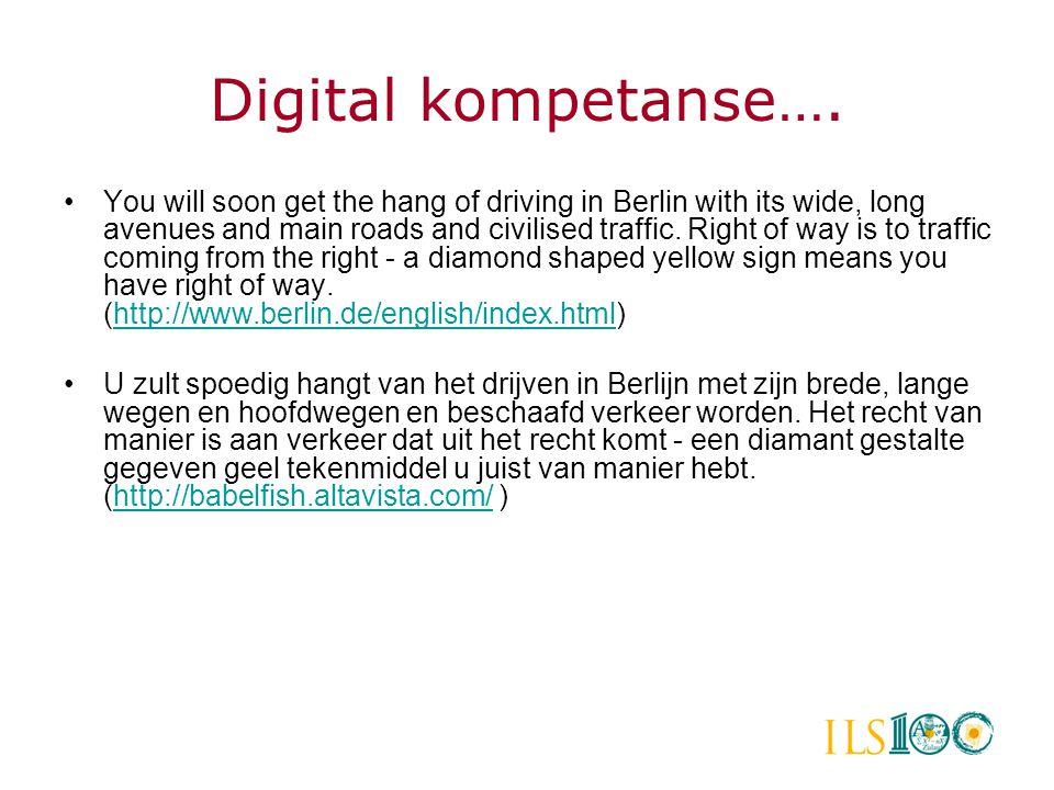 Jon Magne Vestøl: Digitale ferdigheter http://folk. uio