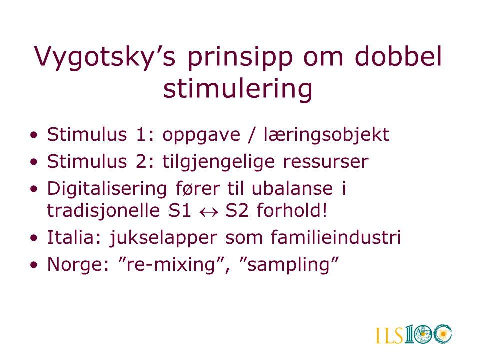 Vygotsky's prinsipp om dobbel stimulering