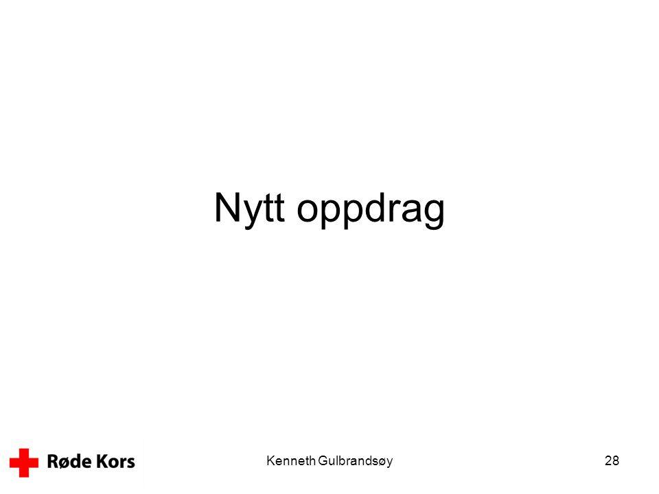 Nytt oppdrag Kenneth Gulbrandsøy