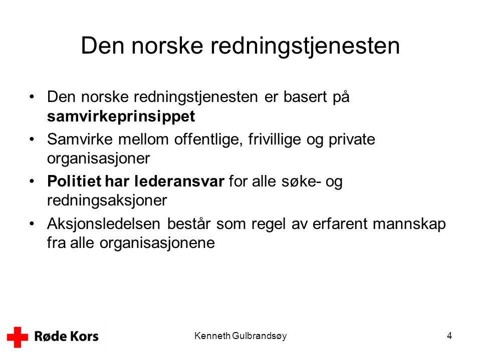 Den norske redningstjenesten