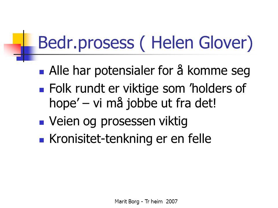 Bedr.prosess ( Helen Glover)