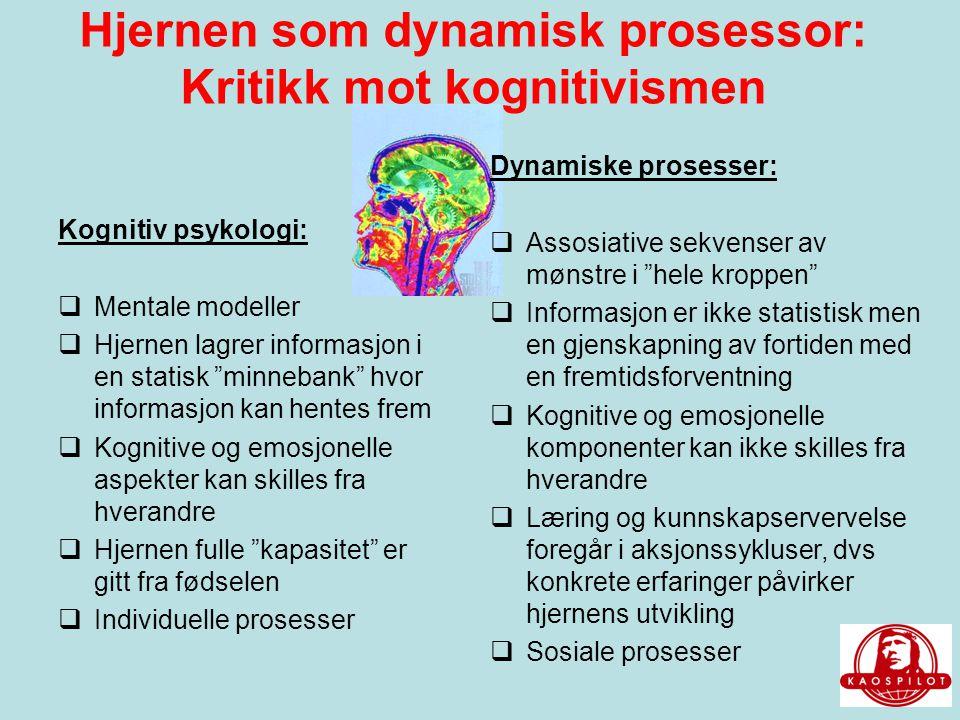 Hjernen som dynamisk prosessor: Kritikk mot kognitivismen