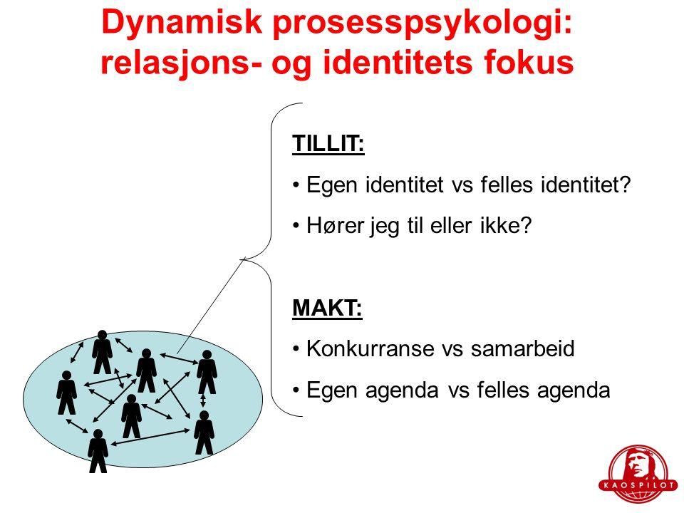 Dynamisk prosesspsykologi: relasjons- og identitets fokus
