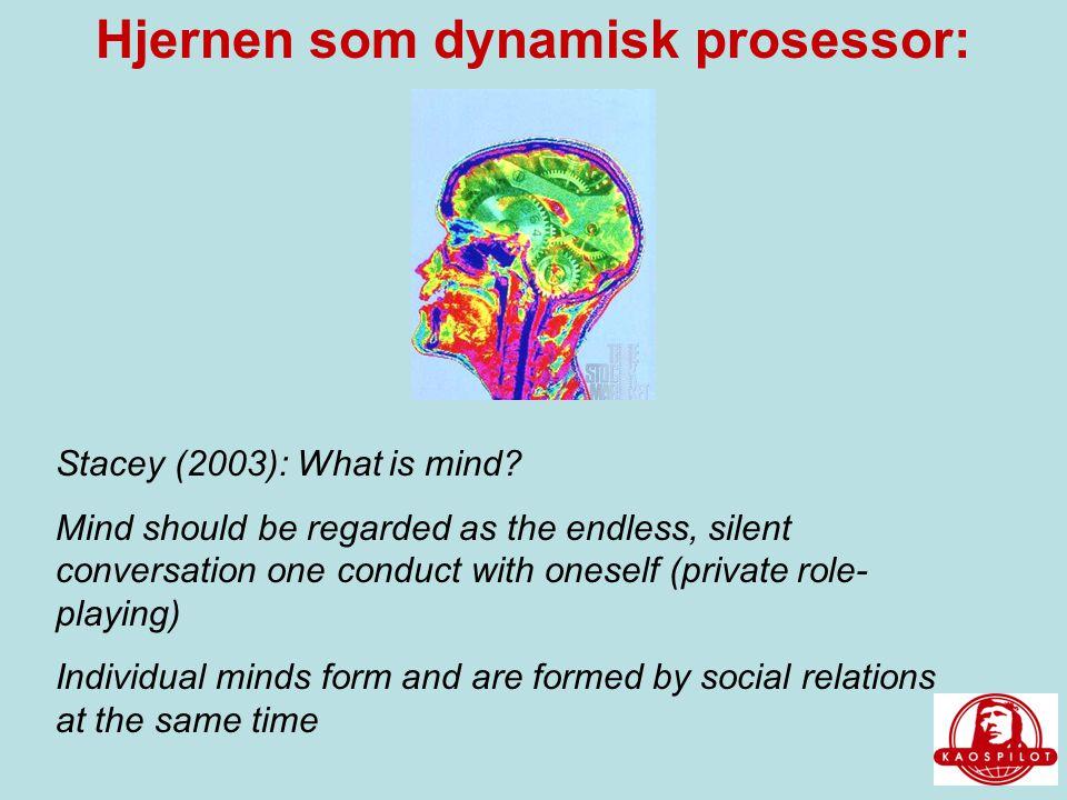 Hjernen som dynamisk prosessor:
