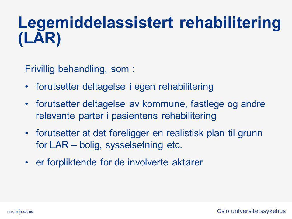 Legemiddelassistert rehabilitering (LAR)