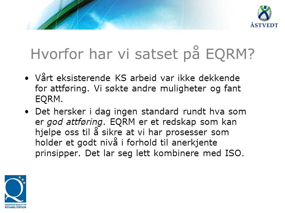Hvorfor har vi satset på EQRM