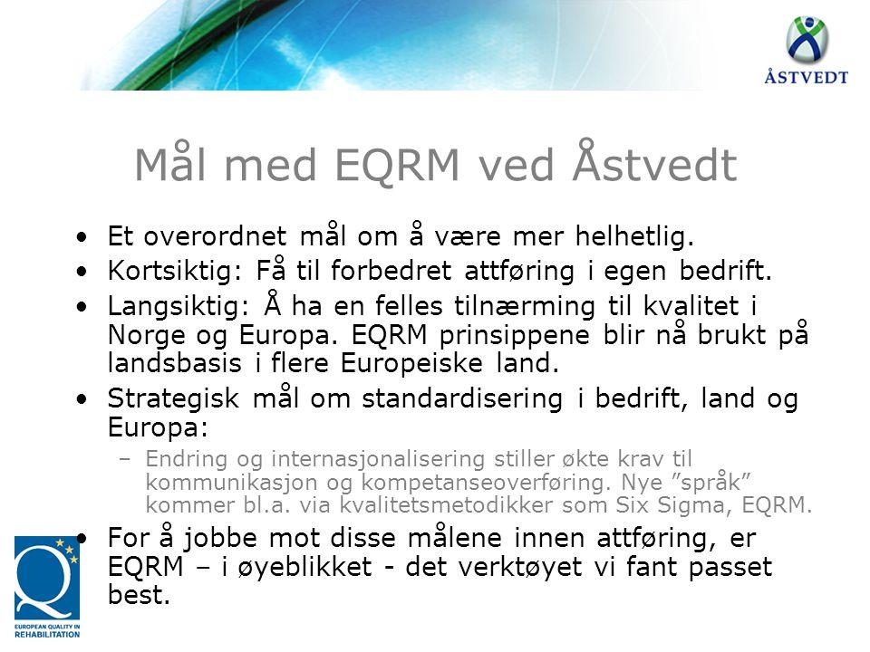 Mål med EQRM ved Åstvedt
