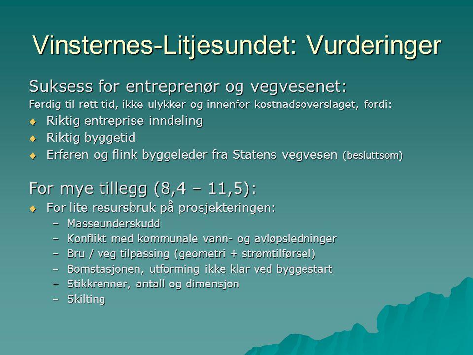 Prosjekteksempel OPS E18 Grimstad-Kristiansand, 2007