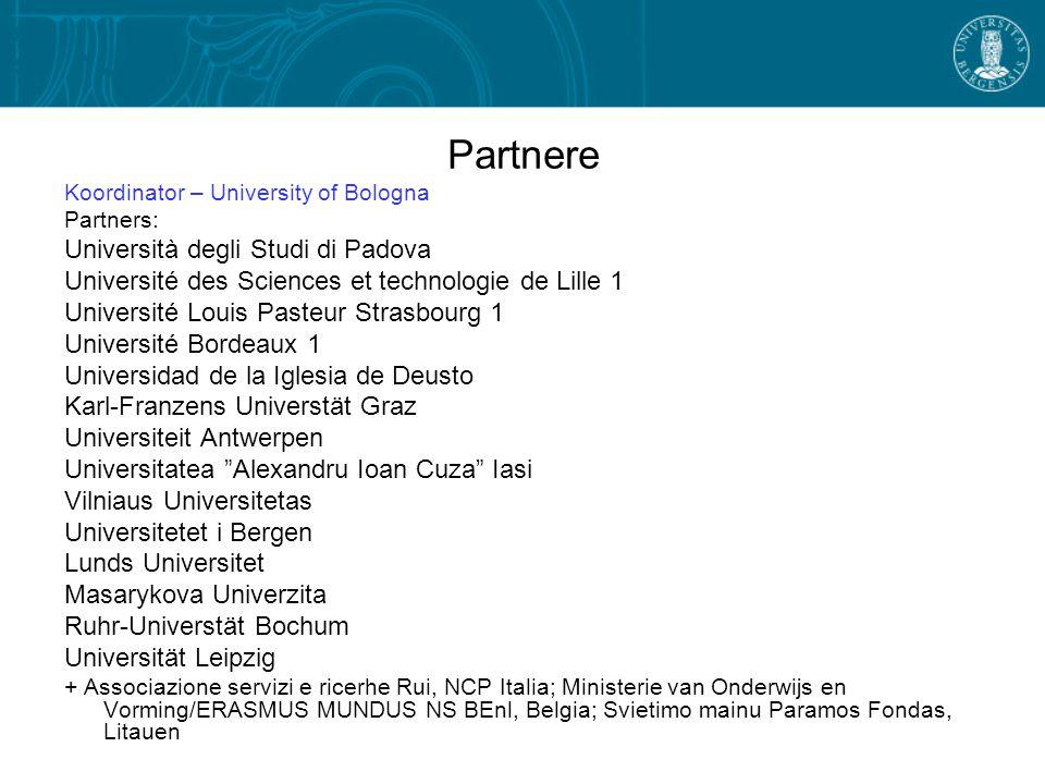 Partnere Università degli Studi di Padova
