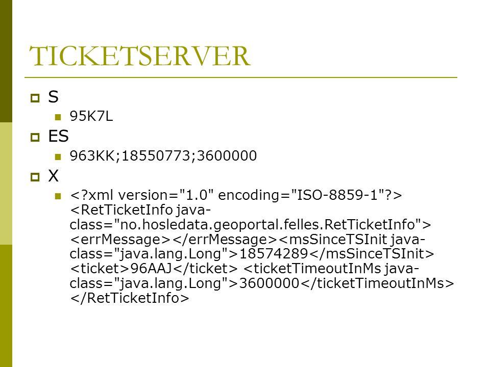 TICKETSERVER S ES X 95K7L 963KK;18550773;3600000