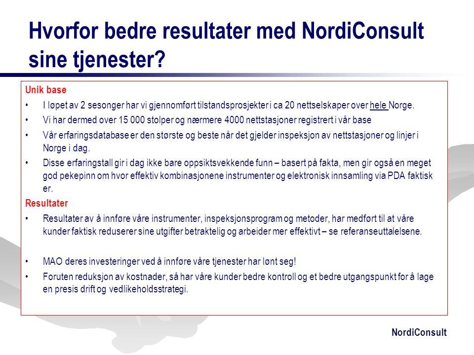 Hvorfor bedre resultater med NordiConsult sine tjenester