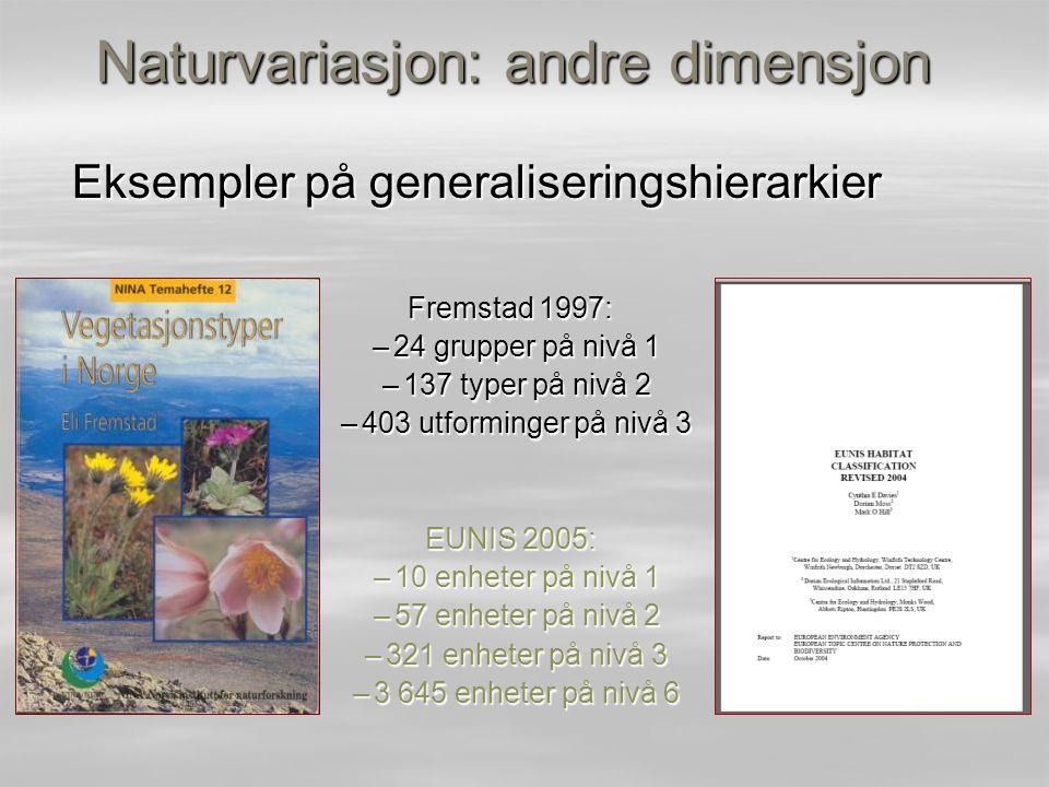 Naturvariasjon: andre dimensjon