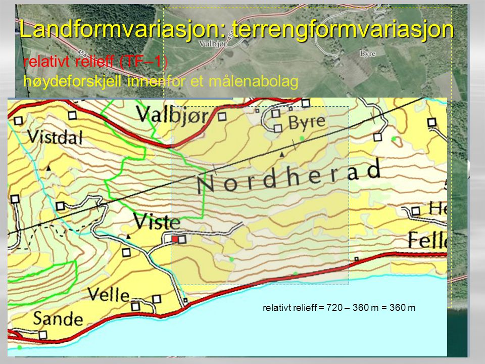 Landformvariasjon: terrengformvariasjon