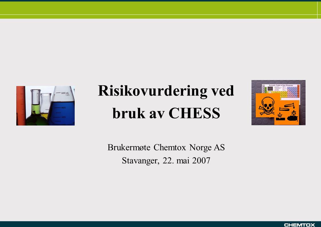 Brukermøte Chemtox Norge AS