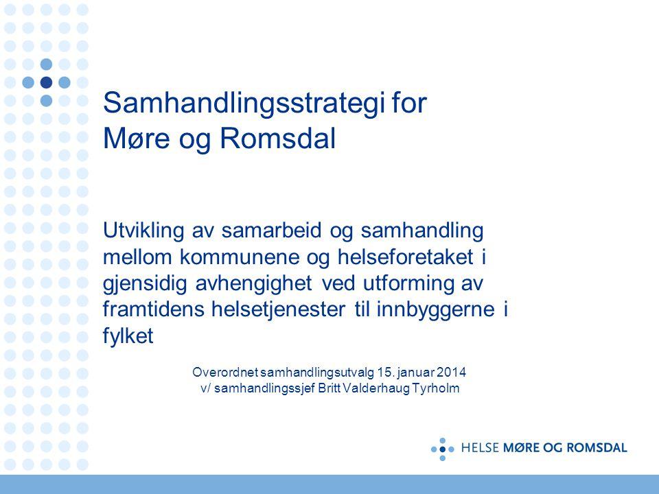 Samhandlingsstrategi for Møre og Romsdal