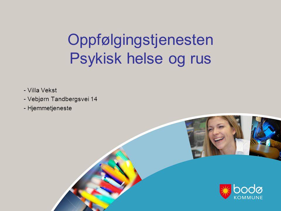 Oppfølgingstjenesten Psykisk helse og rus