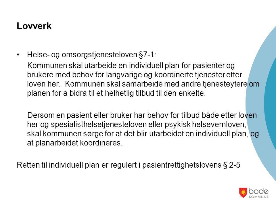 Lovverk Helse- og omsorgstjenesteloven §7-1: