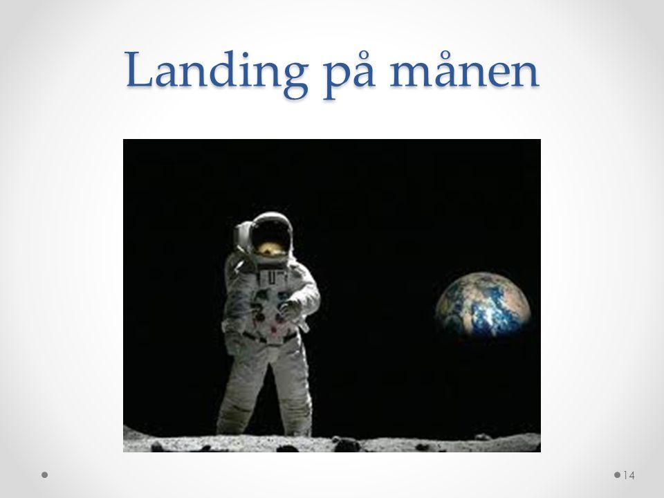 Landing på månen