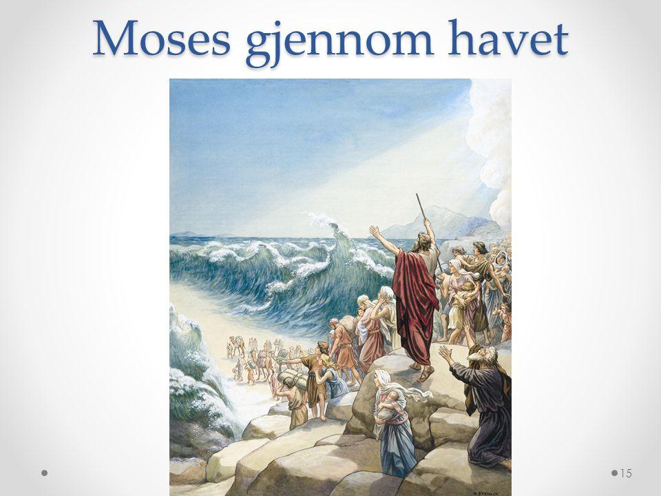 Moses gjennom havet