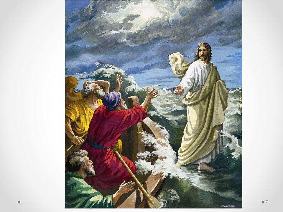 Jesus kan komme i ethvert stormvær, han er herre over enhver bølge