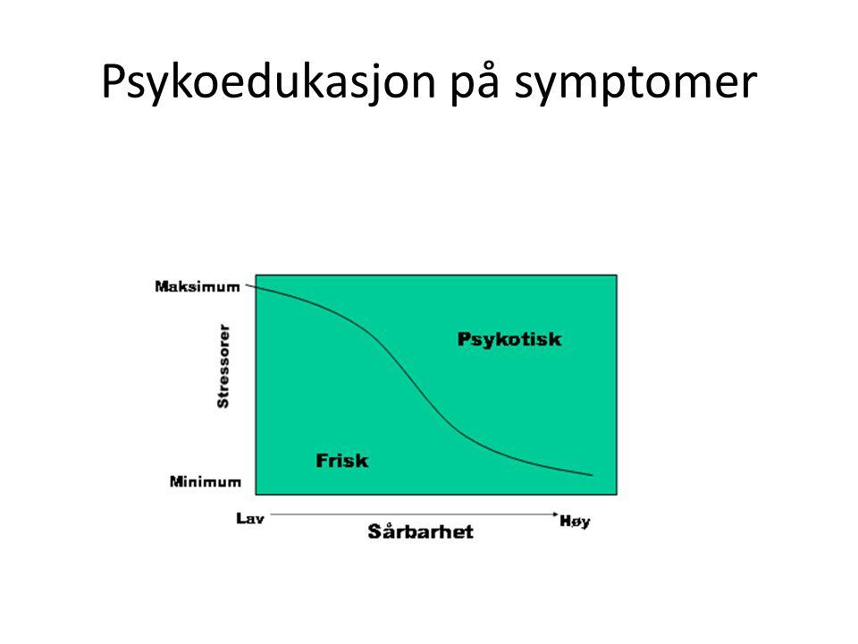 Psykoedukasjon på symptomer