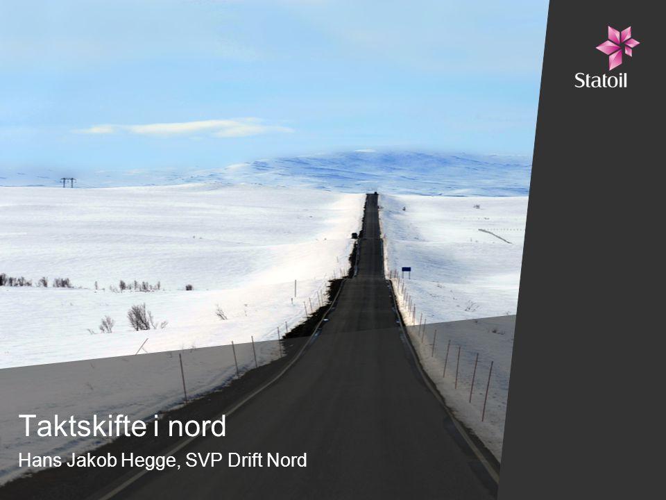 Hans Jakob Hegge, SVP Drift Nord