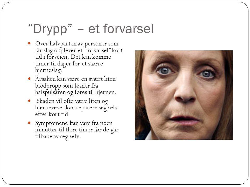 Drypp – et forvarsel
